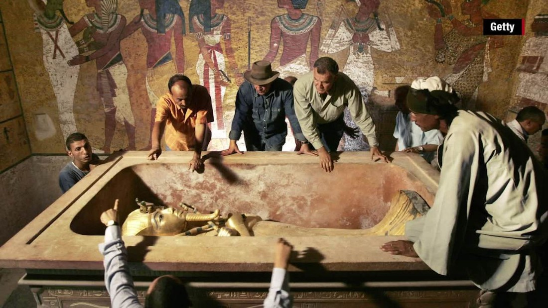 Egyptologists are optimistic that a second chamber may soon be found behind King Tutankhamun's tomb, based on results of scans from the Valley of the Kings. One archaeologist has speculated that if the second chamber exists, it could be Queen Nefertiti's long-lost burial place.