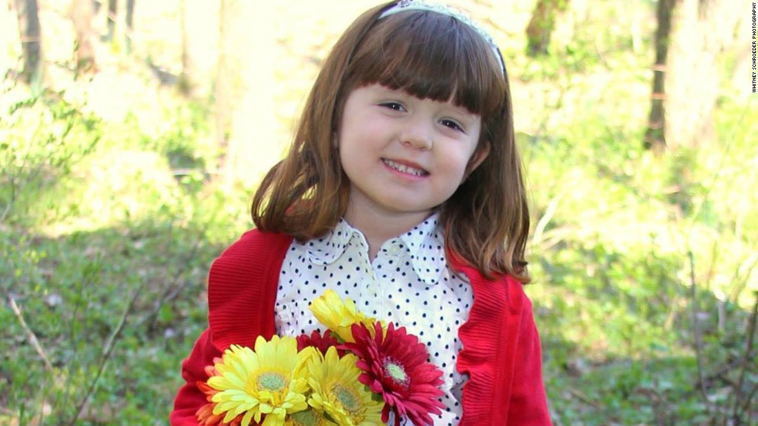 Lizzy Myers' parents want her to see as much beauty as she can before she loses her vision. The 5-year-old from Ohio has Usher Syndrome Type II which means she will eventually lose most of her sight and hearing.