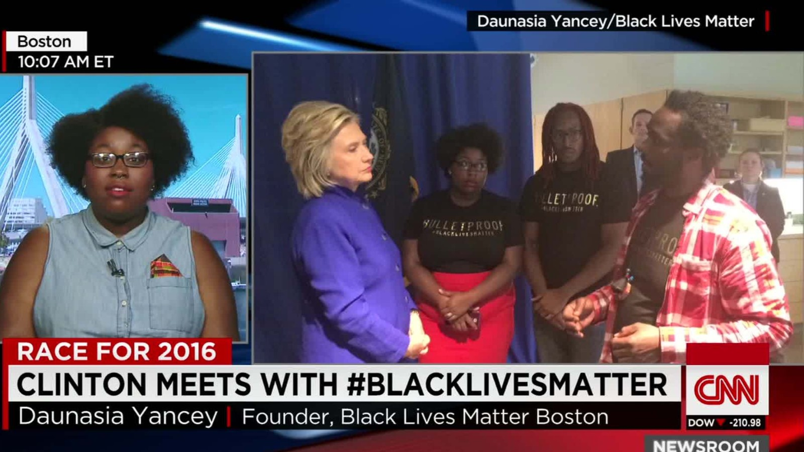 Hillary Clinton To Hold 39 Important 39 Meeting With Black