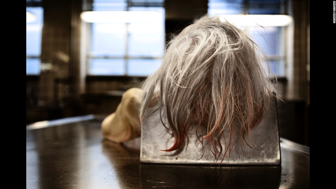"In the spring and summer of 2012, Danish photographer Cathrine Ertmann set out to document death and what happens to people after they die. Her project, called ""About Dying,"" aims to break the taboo about death by viewing it up close."