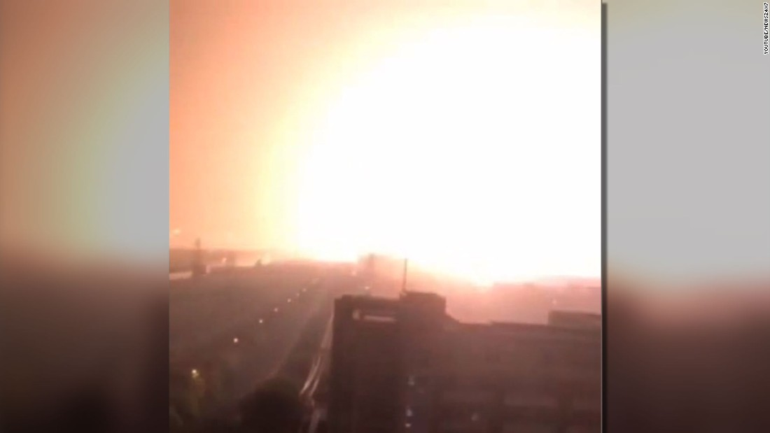 Massive blasts rock Chinese city of Tianjin; 44 dead, hundreds injured