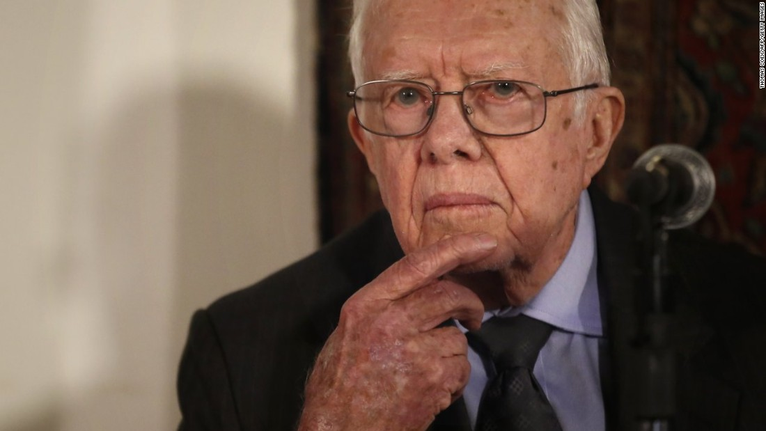 Jimmy Carter says he has cancer and it has spread