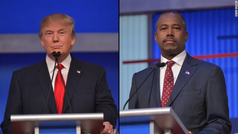 Poll: Trump support surges, Carson follows behind