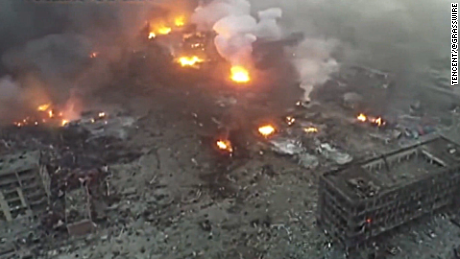 china tianjin damage drone stout lkl_00003520