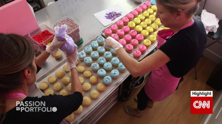 Sisters turn childhood passion into baking empire