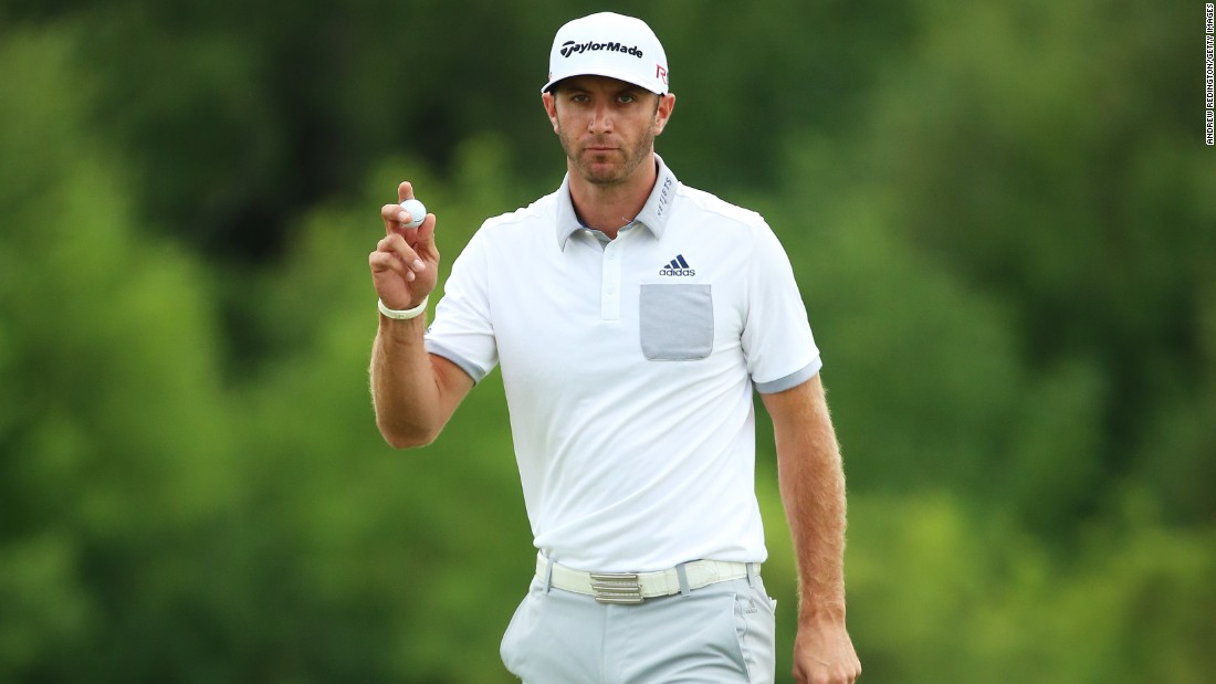 Dustin Johnson took an early lead on day one at the U.S. PGA Championship at the Whistling Straits course in Wisconsin, and by the end of the first round he held a one-stroke advantage.