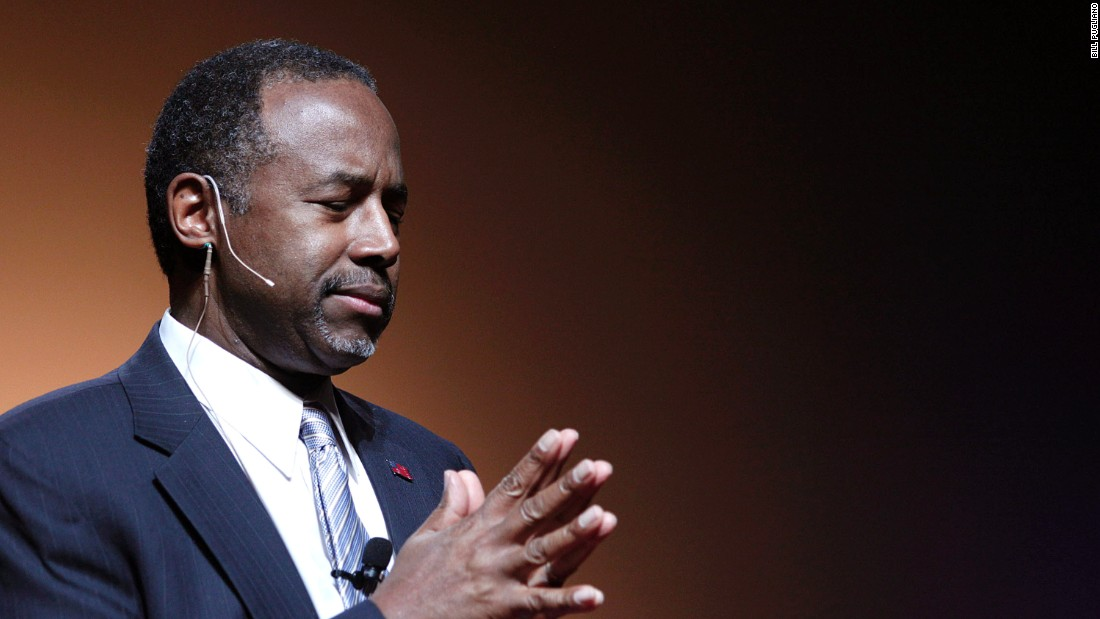Carson defends his research on aborted fetuses