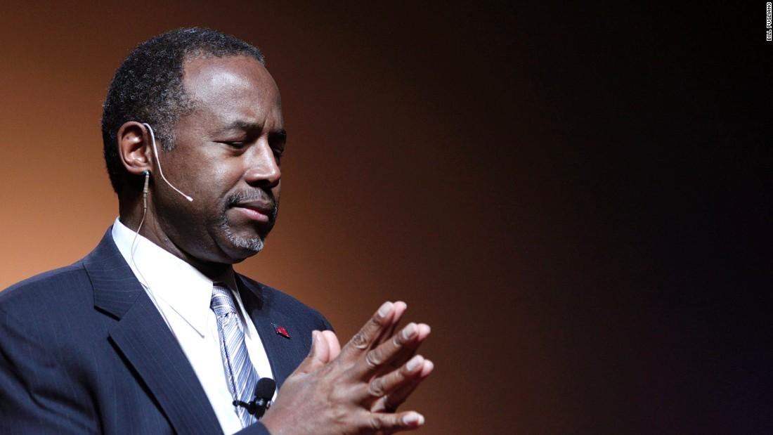 Ben Carson tells Black Lives Matter to refocus
