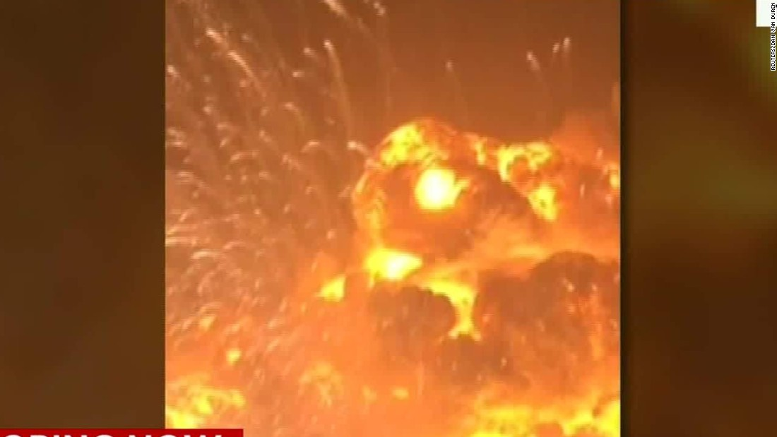 Tianjin explosion: Dozens dead, areas of Chinese port city devastated