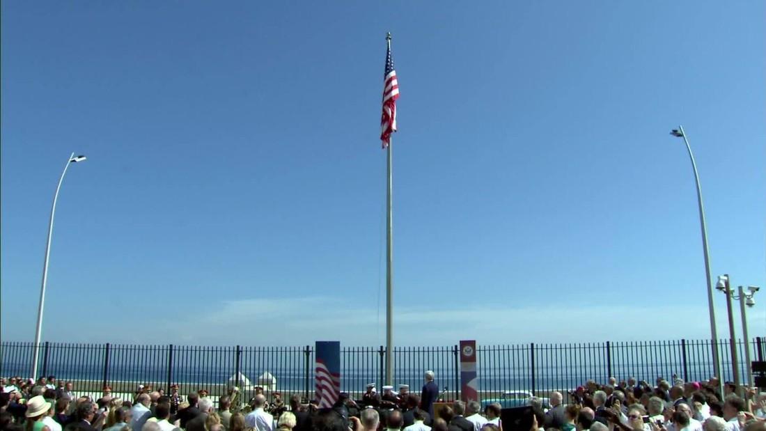 John Kerry reopens embassy in Cuba, but tensions remain