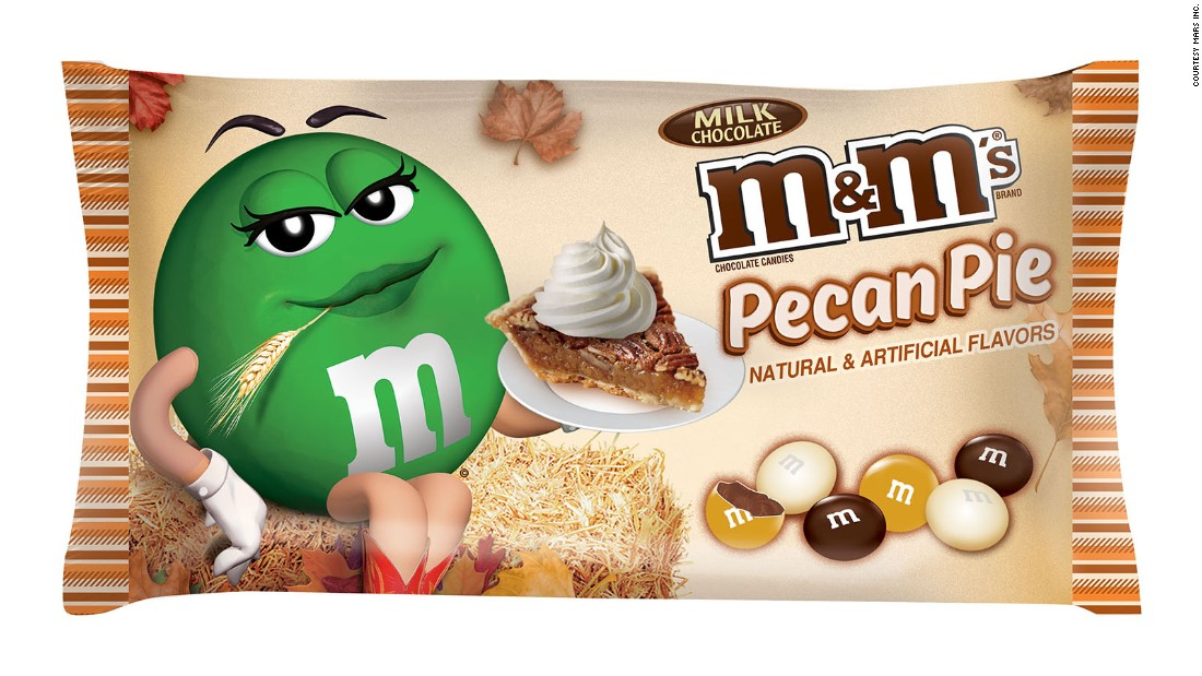 Why not encapsulate the delicious flavors of pecan pie in a hard M&M shell? The new fall-inspired candies have been spotted on store shelves in August.