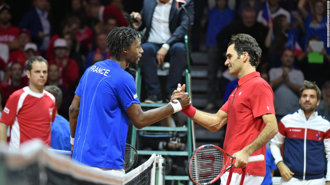 Nonethless, the 28-year-old Monfils is convinced he can win a maiden major. He has beaten 17-time grand slam champion Federer four times, including last year in the Davis Cup final.