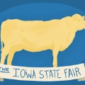 butter cow iowa state fair
