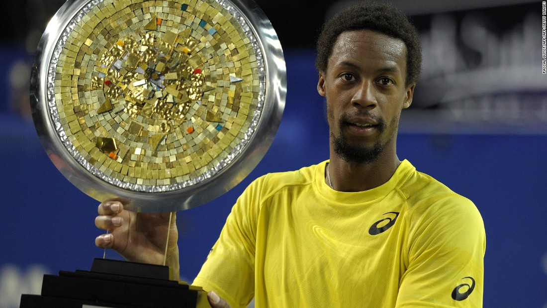 The last of Monfils' five titles came last year in France.