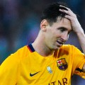 lionel messi unhappy