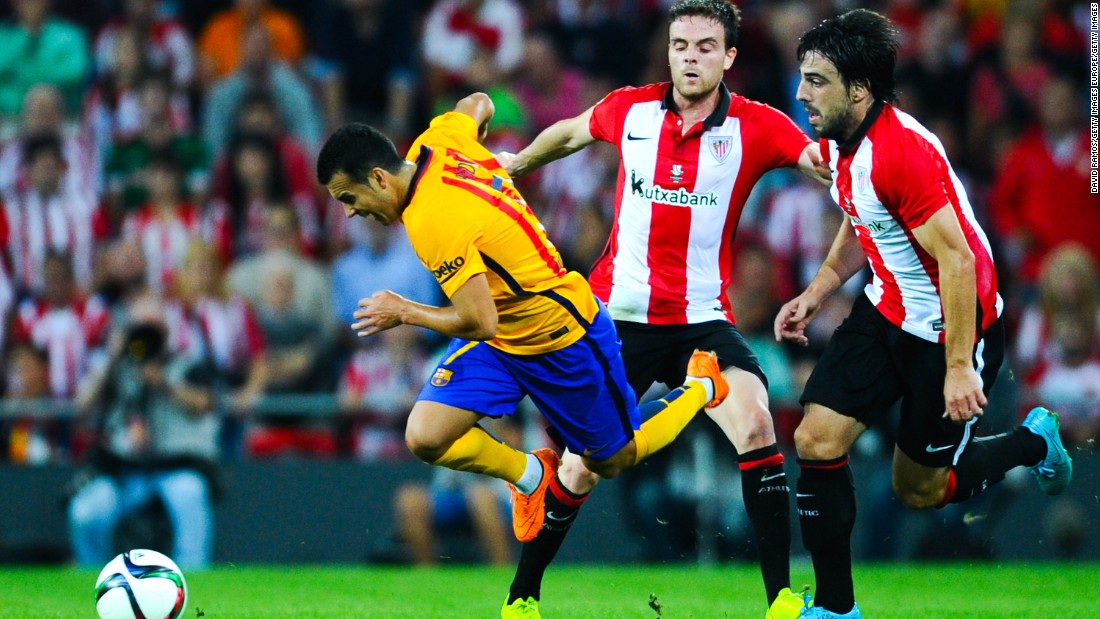 Spanish Super Cup: Barcelona embarrassed by Athletic Bilbao
