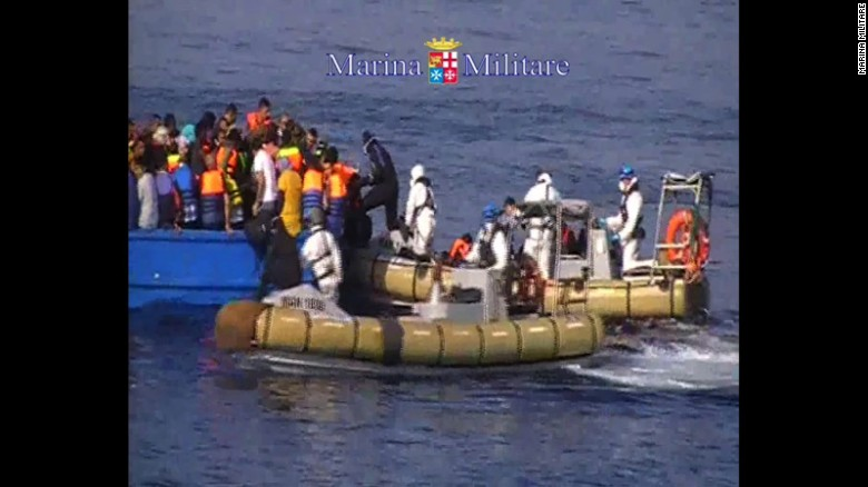 Italy: At least 40 dead aboard migrant ship