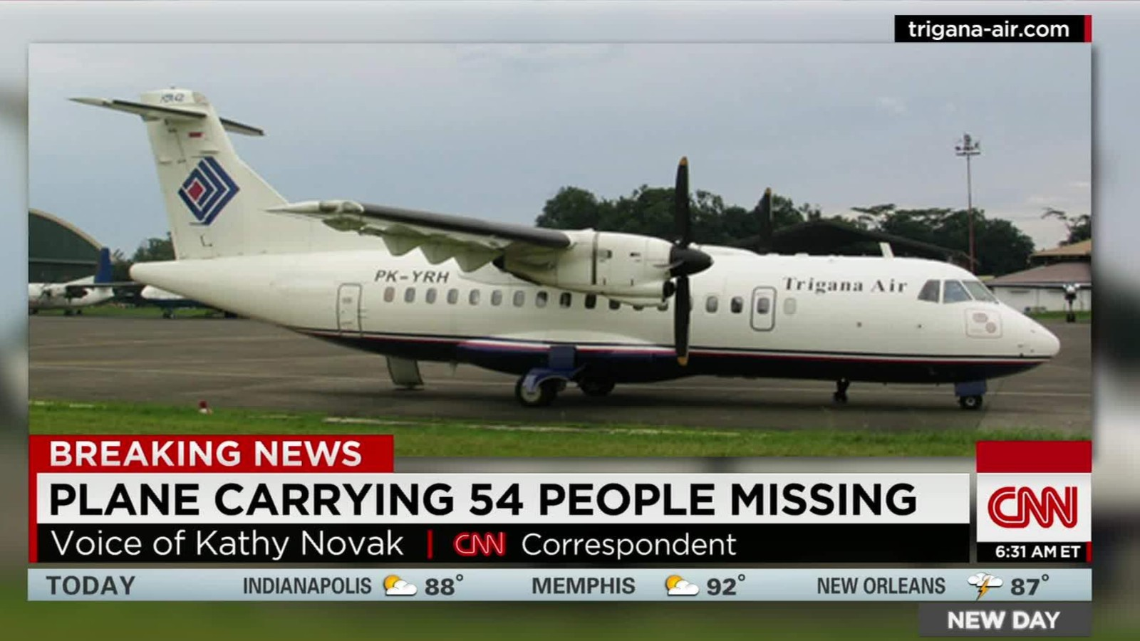 Indonesia missing plane is 27 years old - CNN Video
