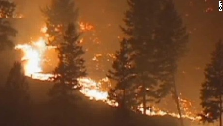 More than 100 fires rage in western U.S.