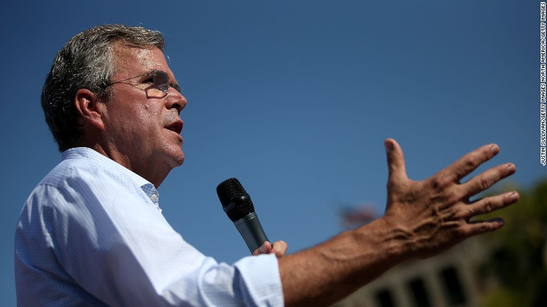 Jeb Bush under fire for 'anchor babies' comment