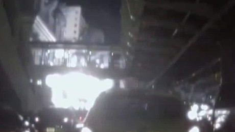 Dashcam footage shows new view of Bangkok explosion