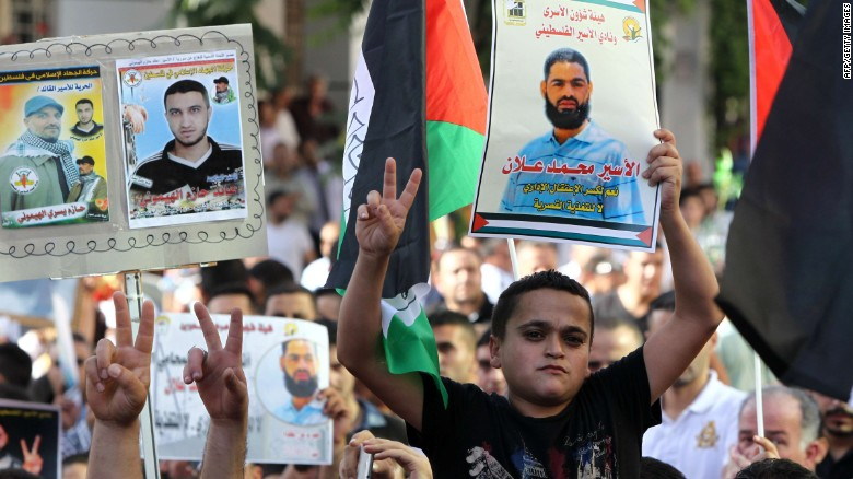 Exile offered to Palestinian detainee on hunger strike
