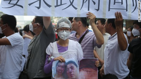 Tianjin blast: Chinese citizens demand accountability