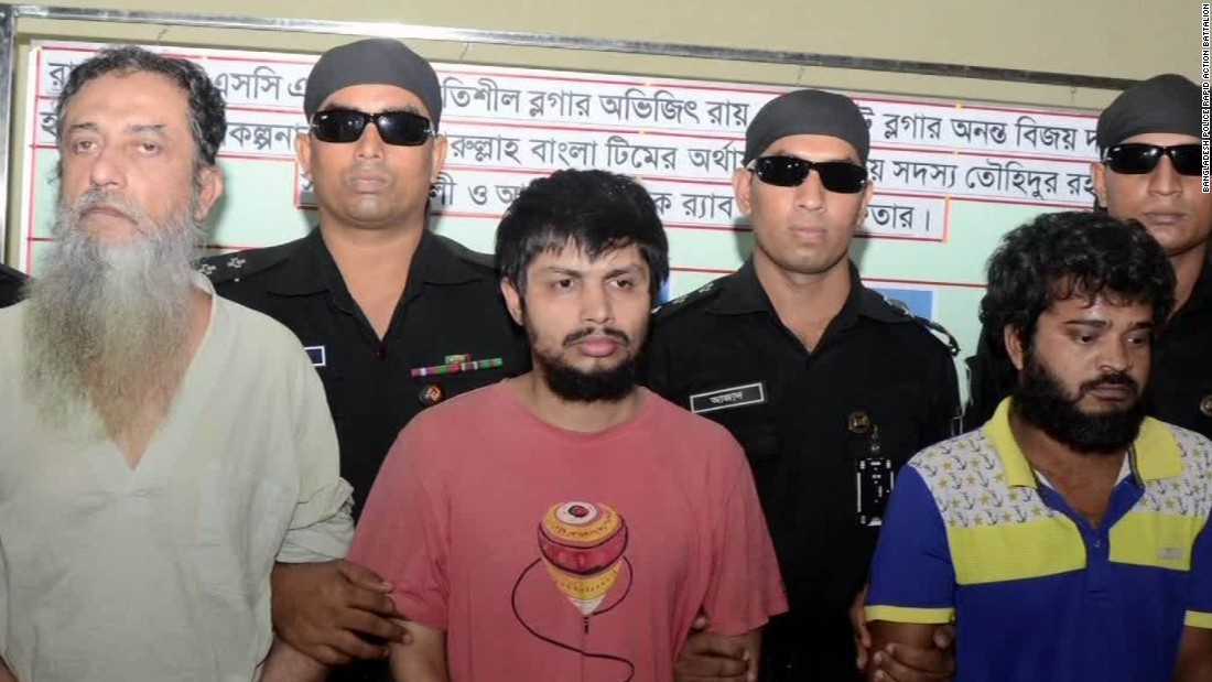 Police: 3 arrested in deaths of Bangladeshi bloggers