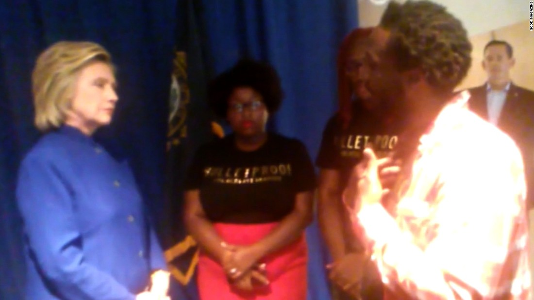 Black Lives Matter demonstrators made a point of protesting Democratic events to bring attention to their issues. The group had a tense meeting with Hillary Clinton in New Hampshire and released video of the conversation.