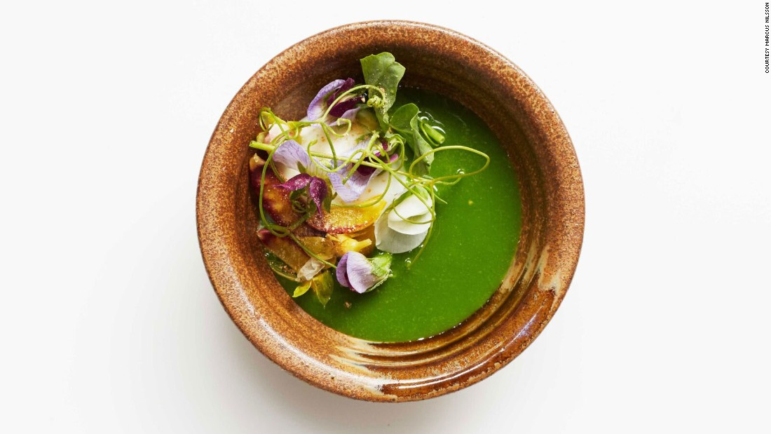 "Veggies take center stage on <a href=""http://www.bonappetit.com/restaurants-travel/best-new-restaurants/article/semilla-no-4"" target=""_blank"">Semilla</a>'s carefully crafted menu. This intimate, casual spot offers fine dining to rival the stodgiest of New York restaurants, says Knowlton. ""Each visit featured several dishes that I didn't know whether to eat or simply admire."""