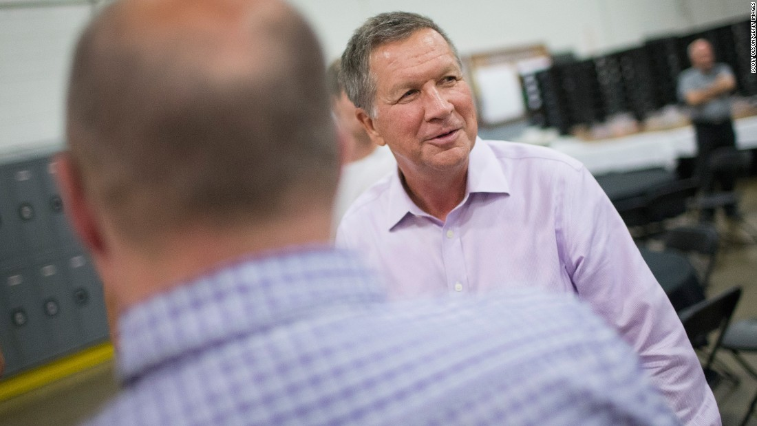 Kasich on rival candidates: 'I've about had it with these people'