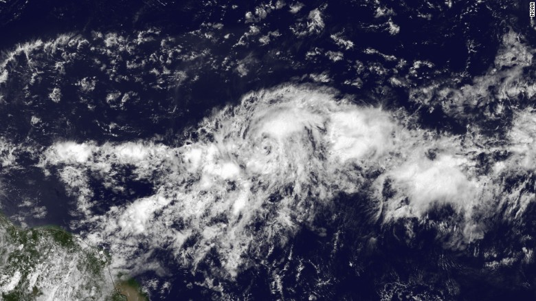 Danny becomes first hurricane of the Atlantic season