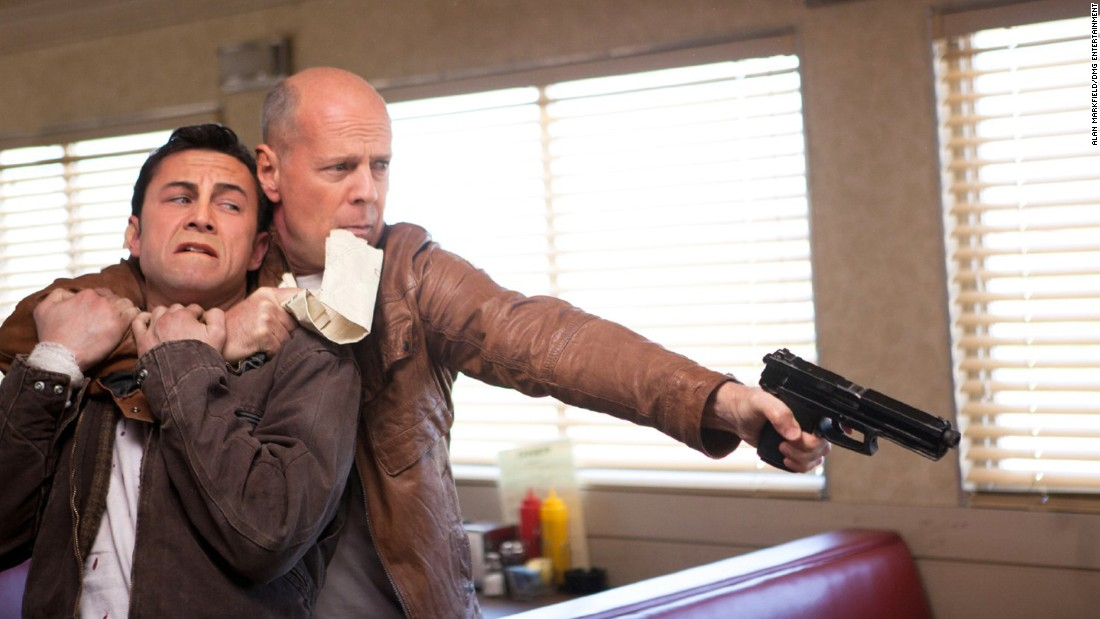 "The 2012 movie ""Looper,"" about a time-traveling hitman, is set in Kansas but was filmed in New Orleans (for the city scenes) and Thibodaux (<a href=""http://www.nola.com/movies/index.ssf/2012/10/new_orleans_knack_for_doubling.html"" target=""_blank"">for the farmhouse scenes</a>)."