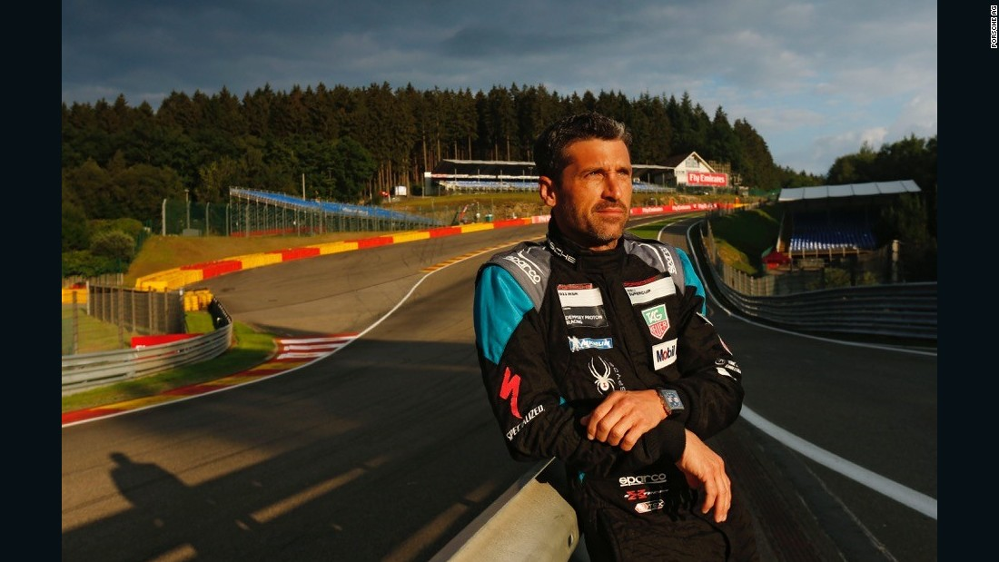 "He's best known as Dr Derek ""McDreamy"" Shepherd in hit television show ""Grey's Anatomy,"" but actor Patrick Dempsey takes motor racing equally seriously."