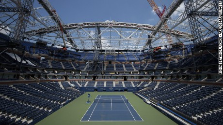 The U.S. Open's extreme makeover