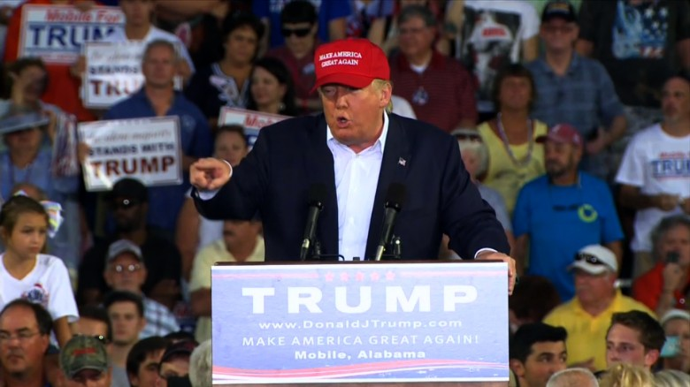 Thousands attend Donald Trump rally