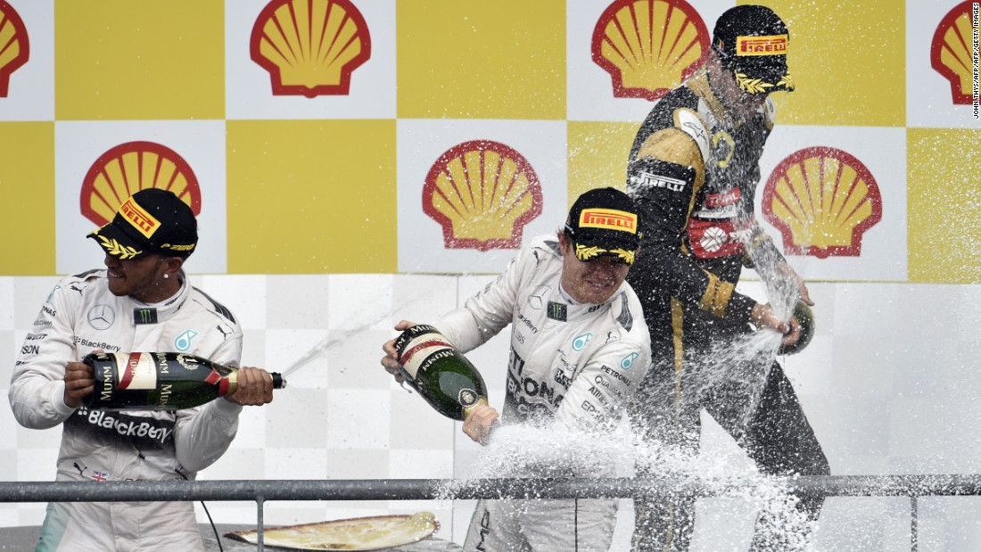 Hamilton finished off the podium for the first time all season at the Hungarian Grand Prix, but August's Belgian Grand Prix at Spa saw him convert pole position into a sixth first-placed win of 2015. He remained in control of the race throughout and, finishing ahead of second-placed Rosberg, extended his lead in the championship to 28 points.