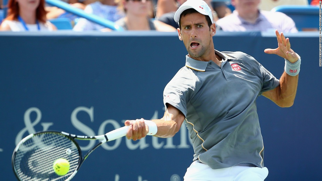 Djokovic was aiming to complete the full set of Masters 1000 tournament victories, having never won in Cincinnati before.