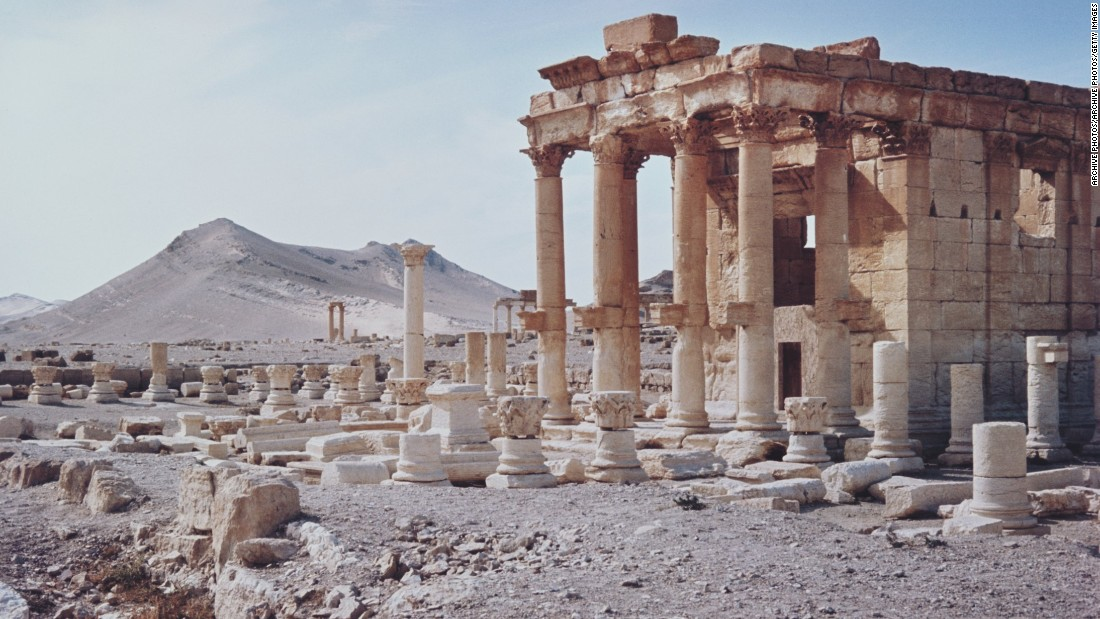 ISIS reported to have blown up ancient temple in Palmyra