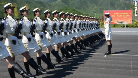 Beijing gears up for massive military parade
