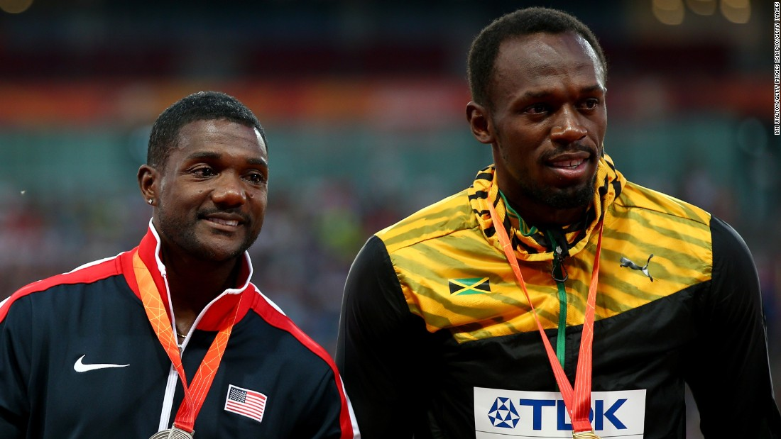 Bolt beat his rival Gatlin by one 100th of a second Sunday. Gatlin was the pre-race favorite and has ran the fastest time this year, but he is a divisive figure due to his previous bans for doping offenses.