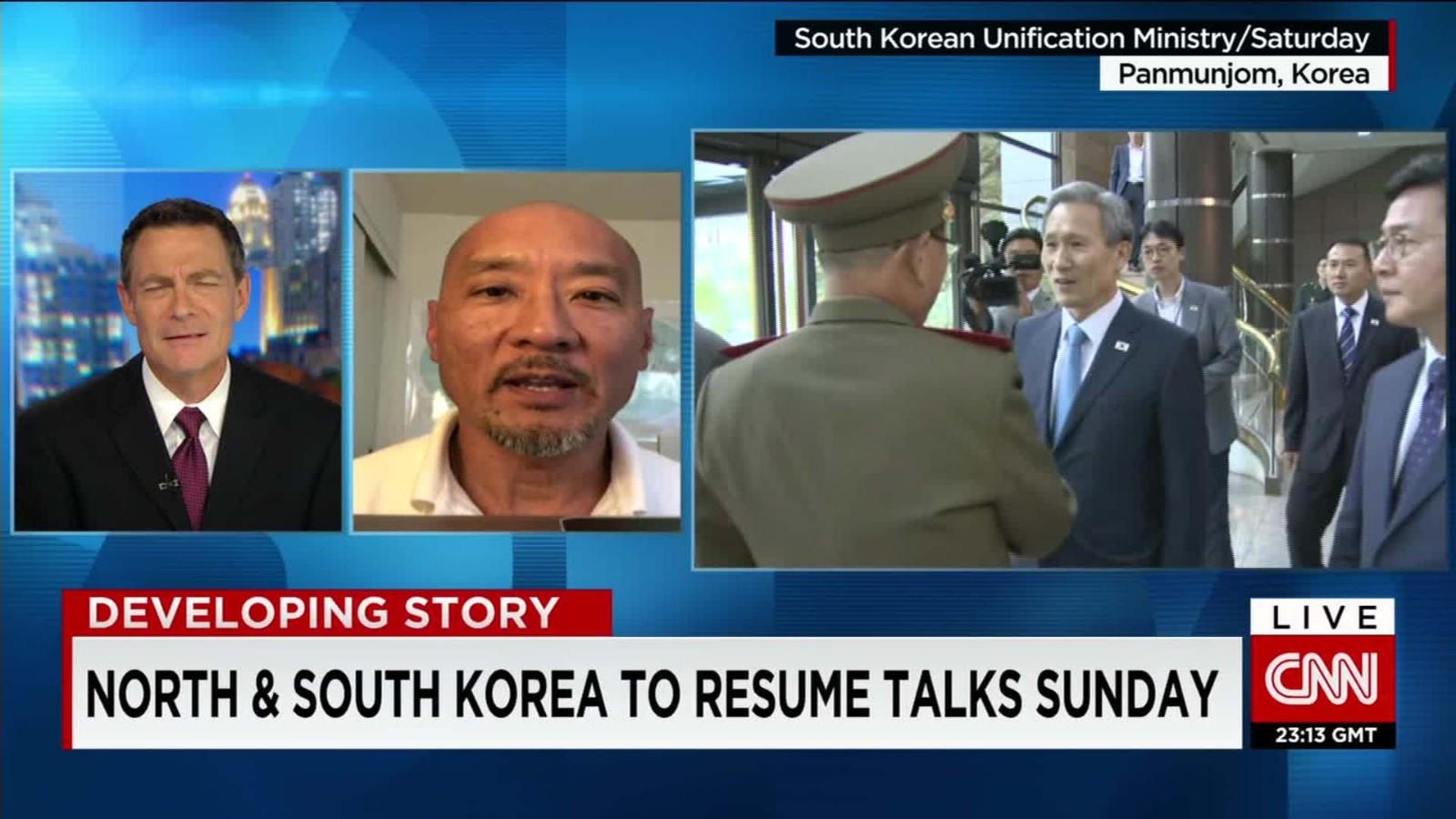 tension between north south korea