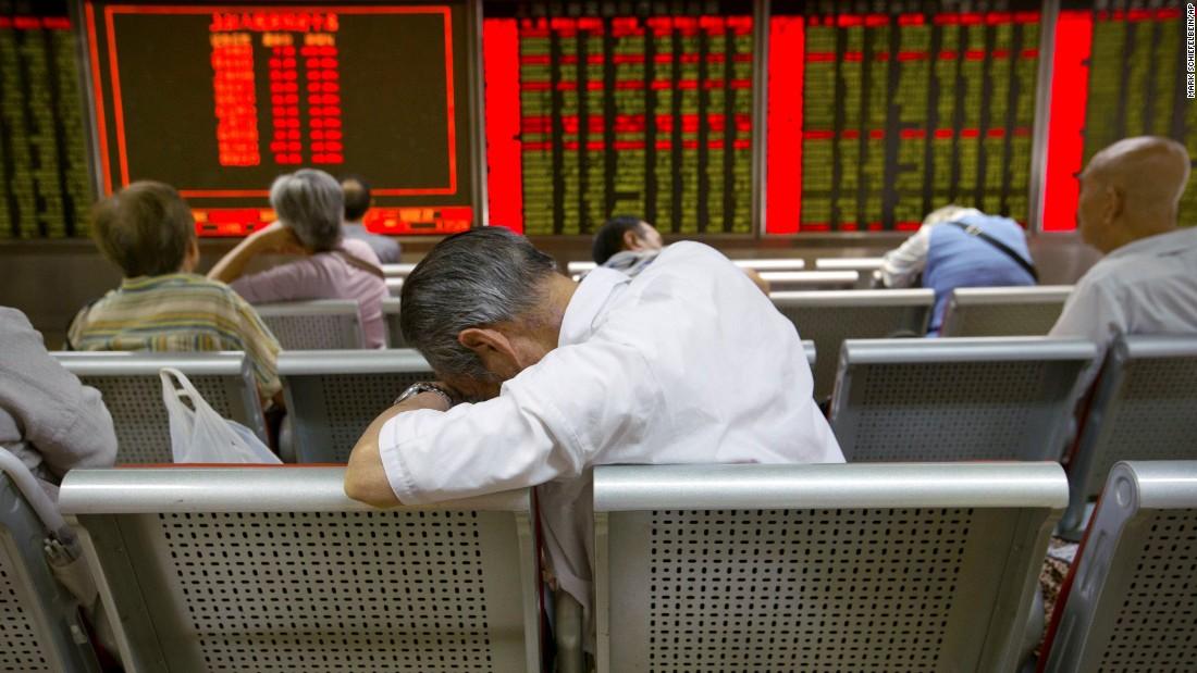 Despair to dark humor: Investors react to China stock market plunge