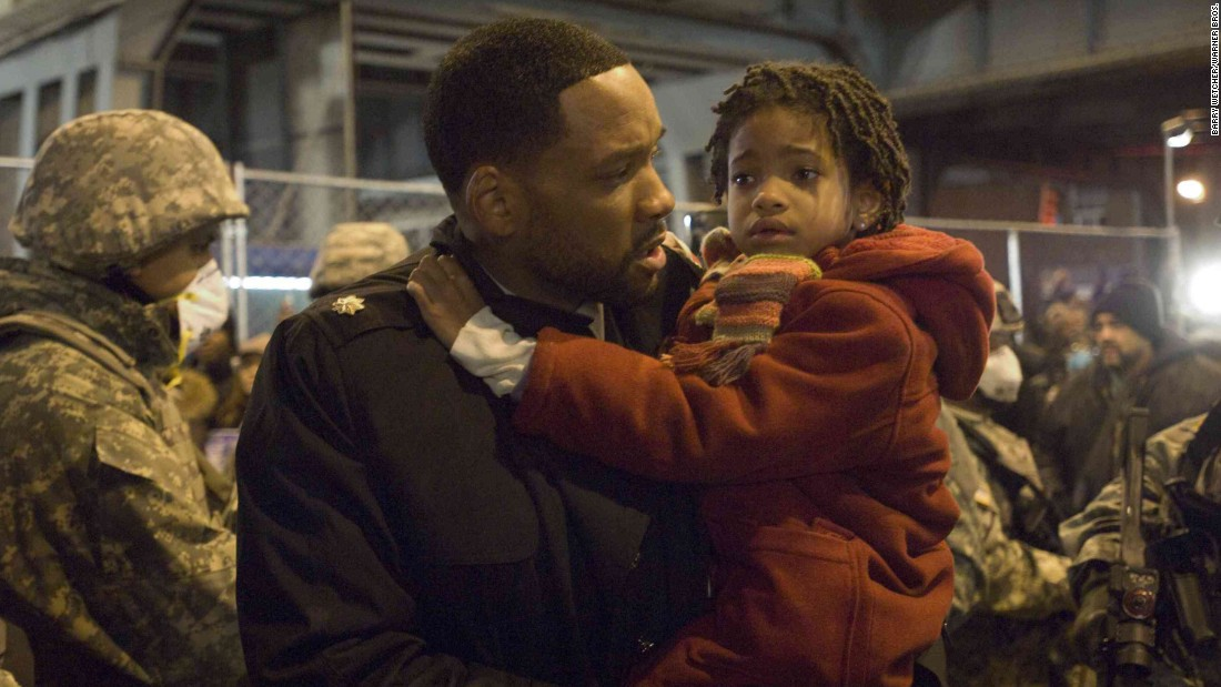 "Smith appeared with her dad in the 2007 film ""I Am Legend."""