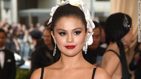 "Selena Gomez attends the ""China: Through The Looking Glass"" Costume Institute Benefit Gala at the Metropolitan Museum of Art on May 4, 2015 in New York City."