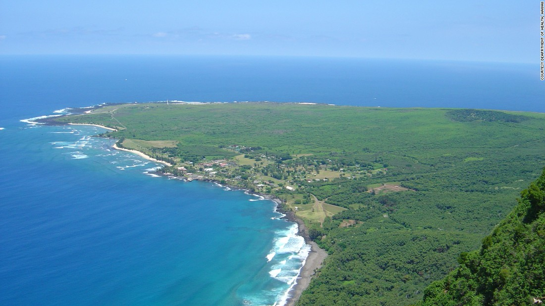 The remote Kalaupapa peninsula on the Hawaiian island of Molokai housed a settlement for Leprosy patients from 1866 to 1969. When it was closed, many residents chose to remain.