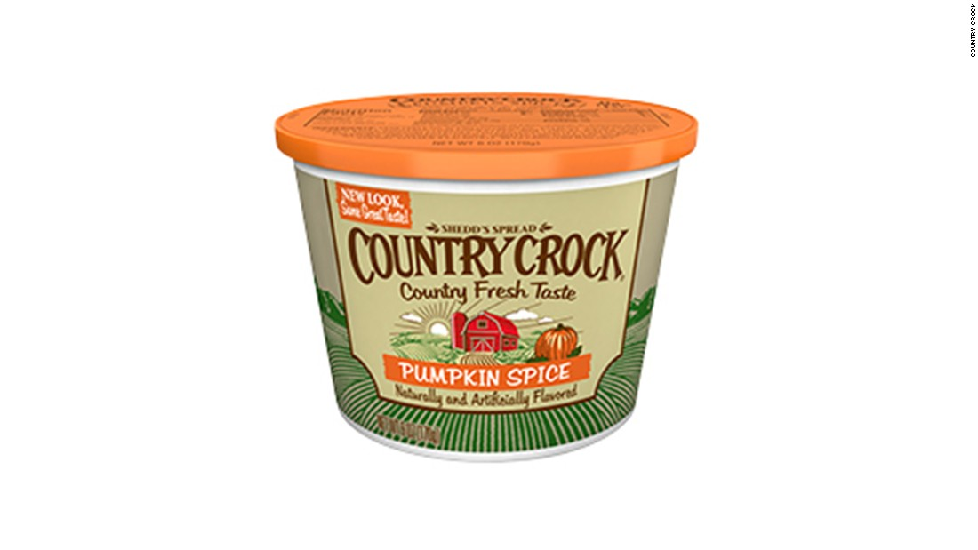 Country Crock Pumpkin Spice spread
