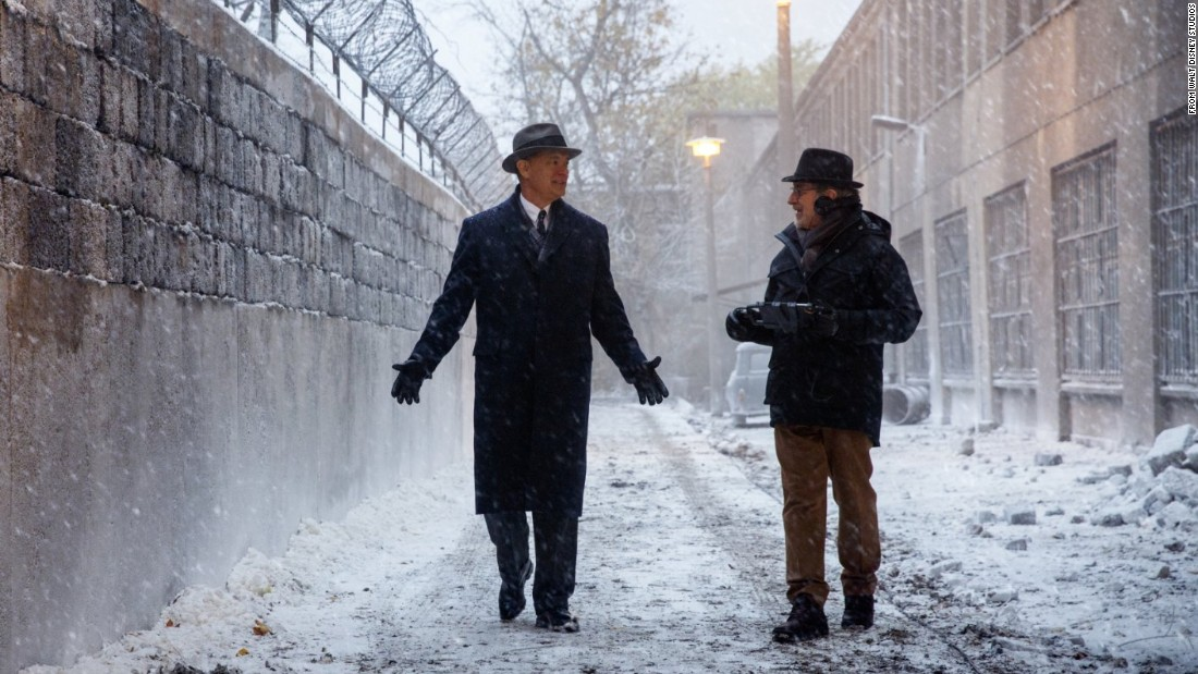 "Steven Spielberg's <strong>""Bridge of Spies""</strong> is a Cold War espionage thriller about the U-2 spy plane incident and the attempt to free captured pilot Francis Gary Powers. Tom Hanks, left, plays attorney James B. Donovan."