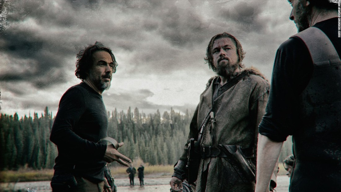 "<strong>""The Revenant""</strong> is the new film from last year's Oscar-winning director, Alejandro González Iñárritu, left. Leonardo DiCaprio, right, stars as a trapper in the 1820s who seeks revenge on the men who left him to die. The film is scheduled to open December 25."