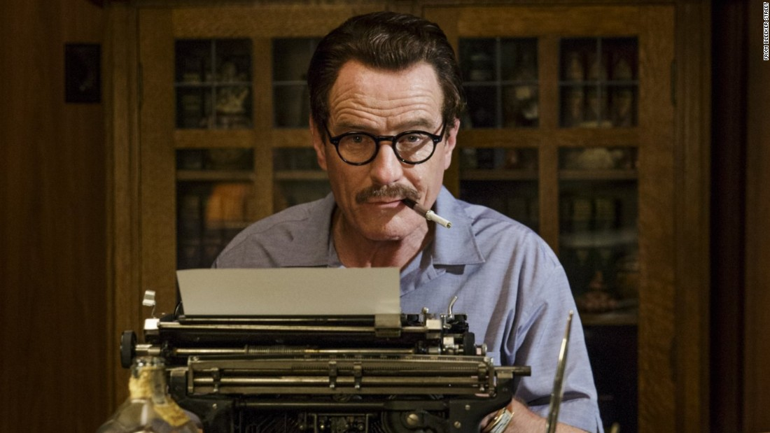 "Bryan Cranston takes on the role of Dalton Trumbo in <strong>""Trumbo,""</strong> about the Hollywood Ten screenwriter who battled the 1950s blacklist (and won two Oscars despite having to keep his identity secret). Jay Roach directs."
